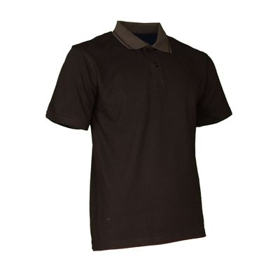 Polo-Shirt Swissline schwarz/anthrazit