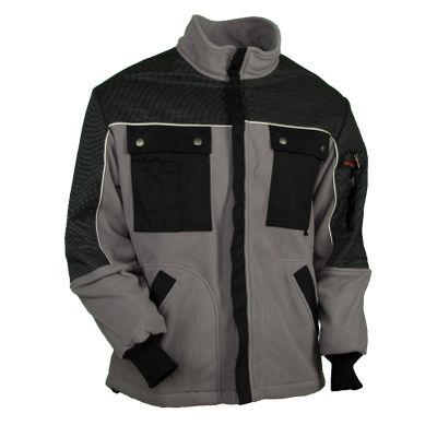 Fleecejacke Powerline mittelgrau