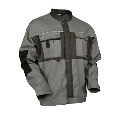 Bundjacke Powerline Diamantstretch mittelgrau