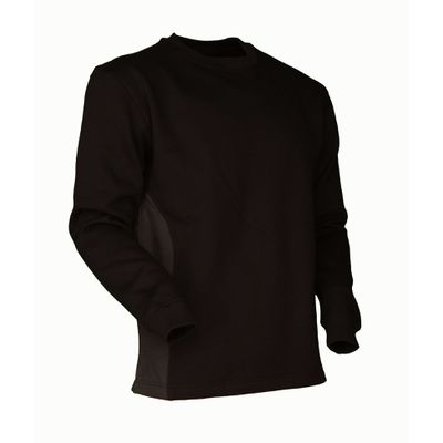 Sweat-Shirt Swissline schwarz/anthrazit