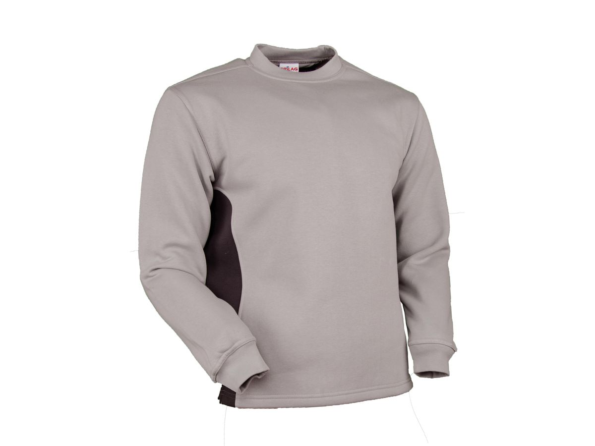 Sweat-Shirt Swissline hellgrau/anthrazit