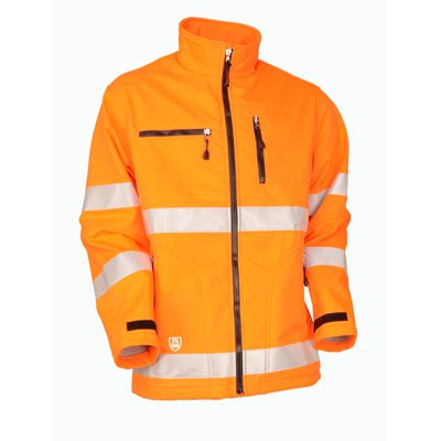 Warn-Softshelljacke Safetyline orange