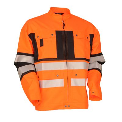Warn-Bundjacke Safetyline SL orange/schwarz
