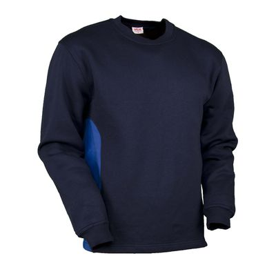 Sweat-Shirt Swissline dunkelblau/royalblau