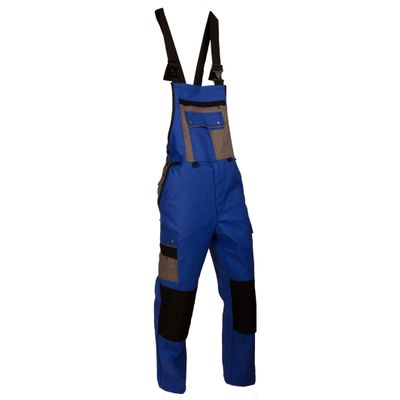 Latzhose Powerline Diamantstretch royalblau